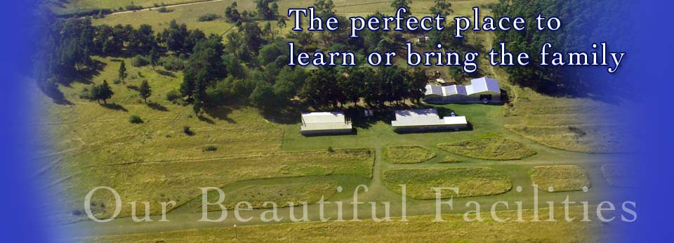 The perfect place to learn to fly or simply to spend a fun filled day with your family.