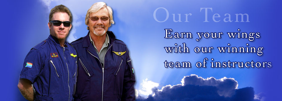 Earn your wings with our winning team of instructors.